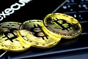 Drei Bitcoins