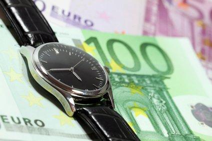 Abrechnungszeitraum Zeit ist Geld
