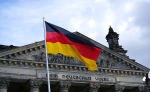 Deutscher Bundestag, wo Angela Merkel arbeitet