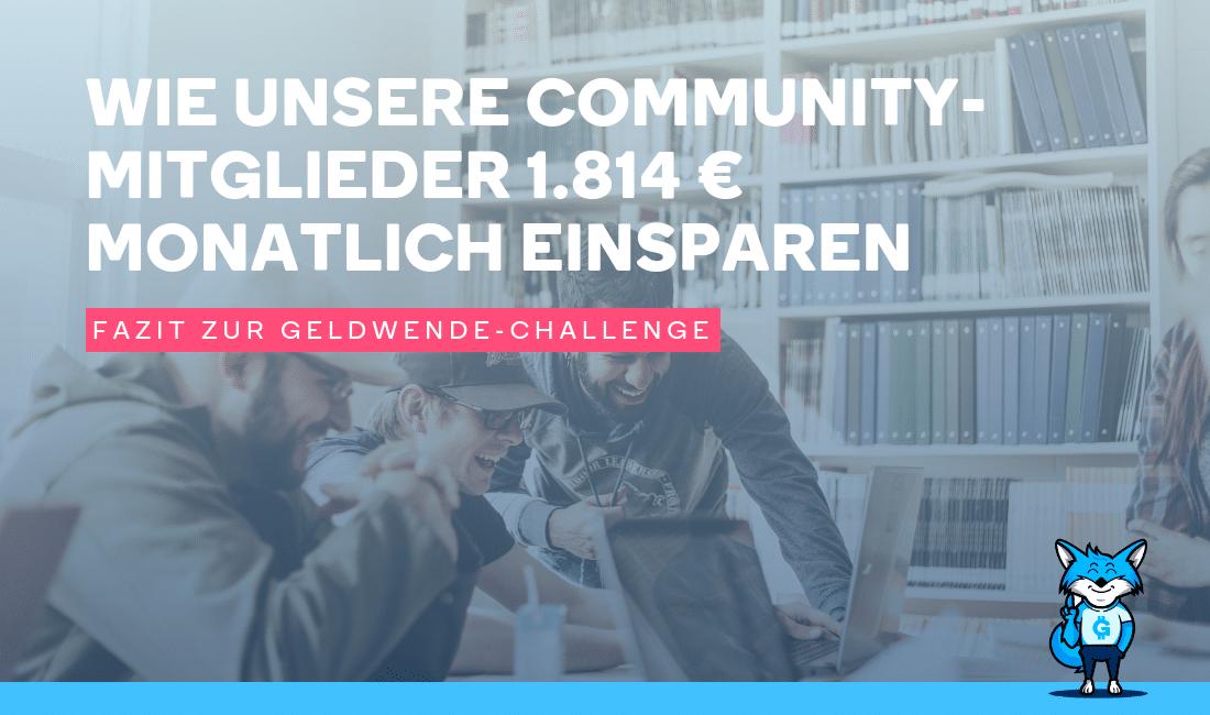 Geldwende-Challenge
