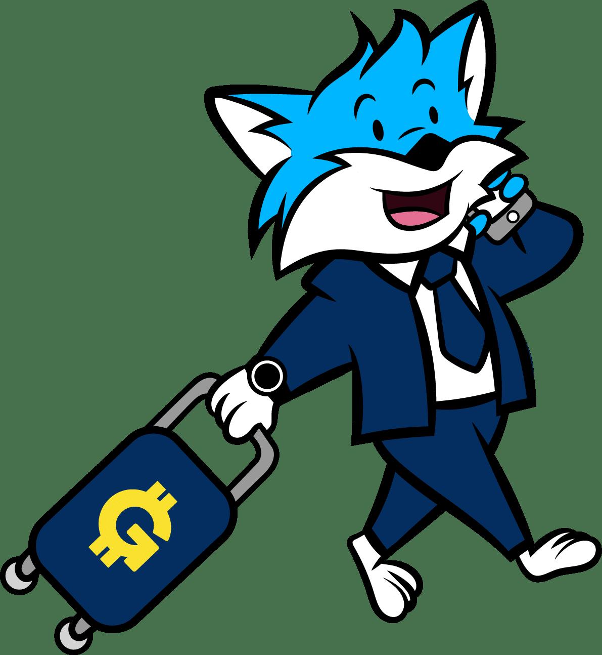 Geldtyp Moneymaker Max schlauer Fuchs