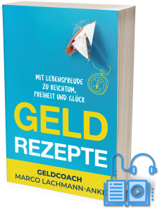 Cover Hörbuch Geld Rezepte
