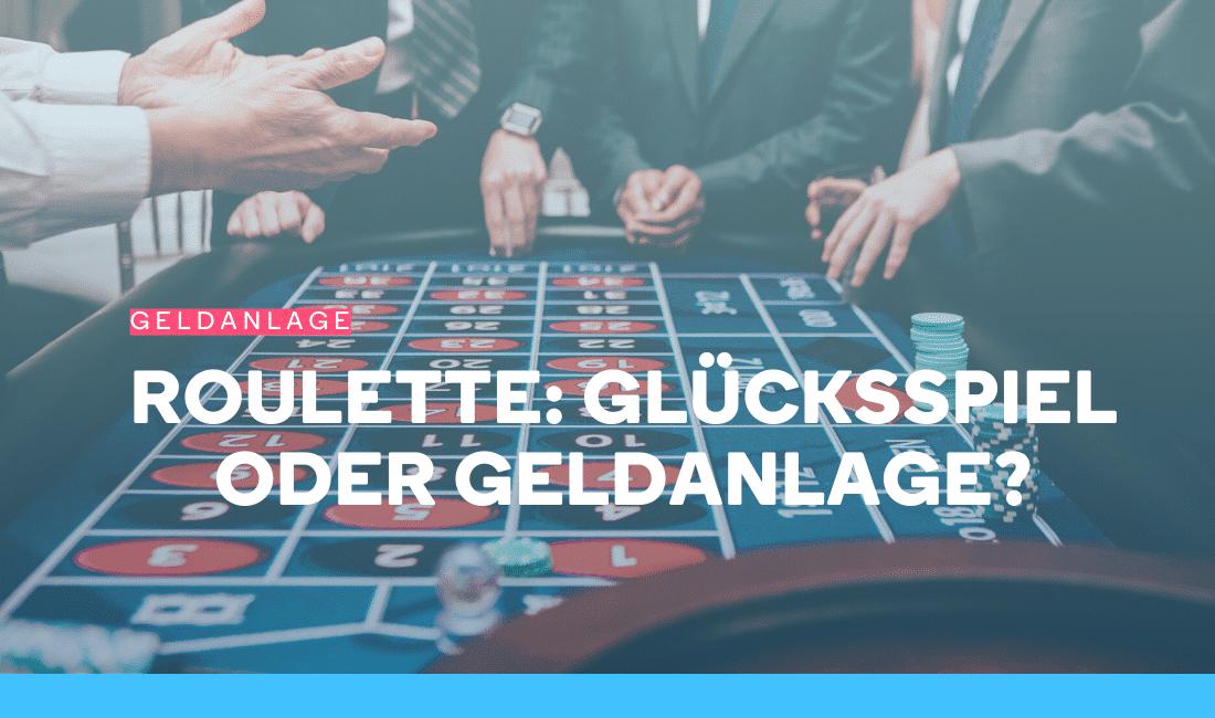 Männer spielen ein Glücksspiel