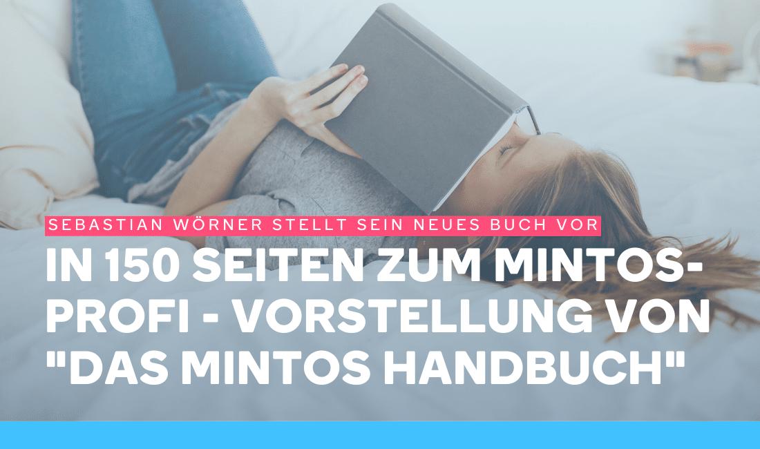 Frau liest das Mintos Handbuch
