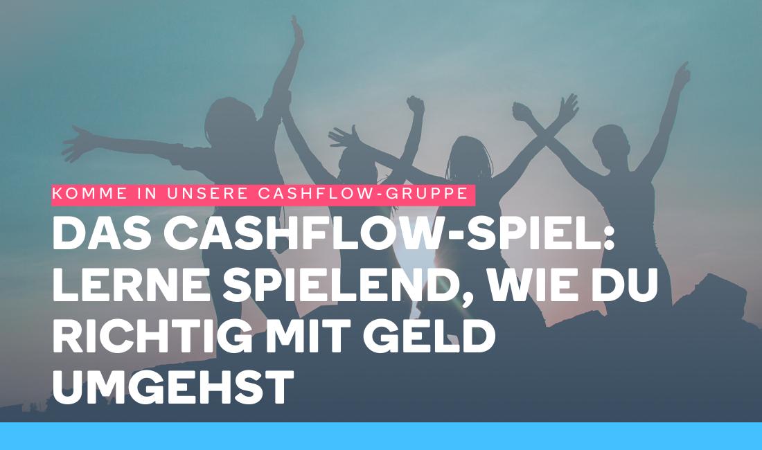 Menschen sind glücklich, weil sie das Cashflow Spiel gespielt haben