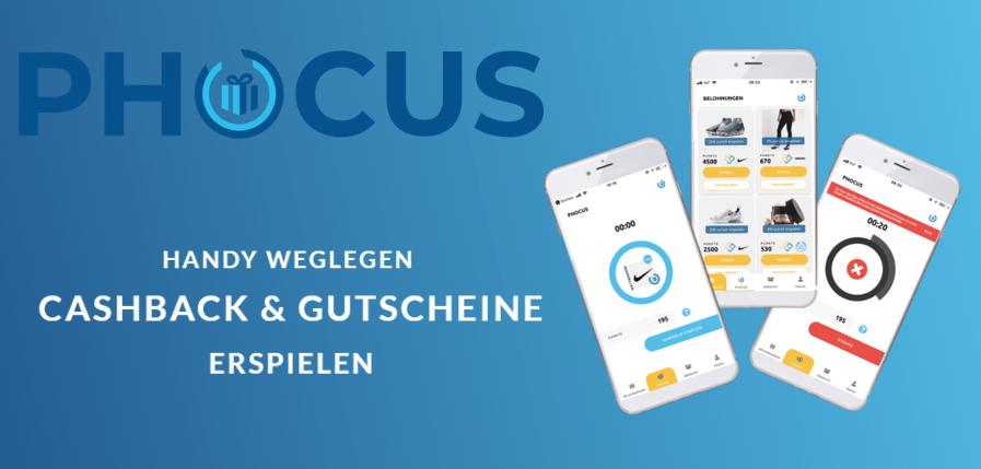 Phocus App zum Geld verdienen