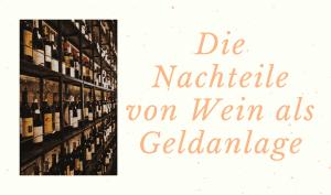 Wein wird als Geldanlage gelagert