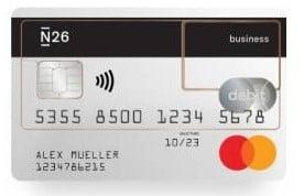 Die Business Mastercard für das N26 Geschäftskonto