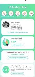 Geld verdienen mit der Testerheld App