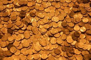 Goldmünzen des alten Geldsystems