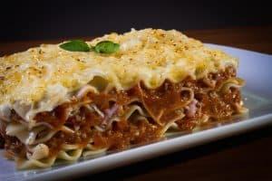 eine perfekte italienische Lasagne