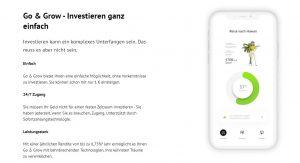Startseite von Bondora Go&Grow, der einzigen P2P-Plattform, die ein Tagesgeld anbietet