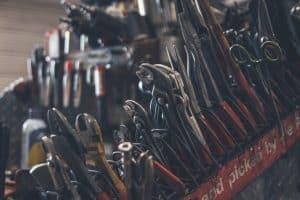 Werkzeug in einer Kiste