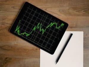 Aktienkurs einer unterbewerteten Aktie