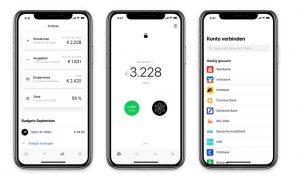 Screenshot von App Numbrs