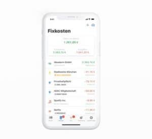 Screenshot der App Outbank