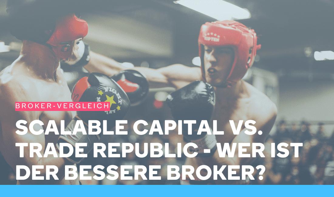 Zwei Boxer prügeln sich im Ring