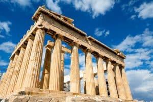 Das Parthenon in Athen