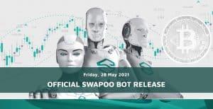 Titelbild der Seite des Swapoo Trading Bots