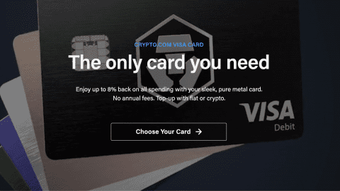 Crypto + Visa Karte