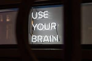 use your brain zum Geld sparen