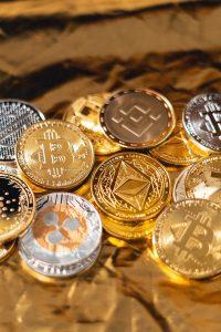 Verschiedene Kryptowährungen kaufen