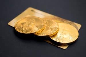 Münzen von Bitcoin für Unternehmen