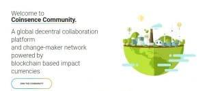 Titelbild von Coinsence, wo man Community Tokens erstellen kann