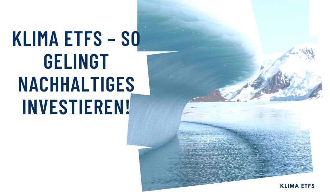 Titelbild: Klima ETFs